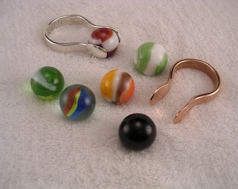 Marble Ring, Marble Marvel™ Ring, Marble Collectors, Vintage Marbles