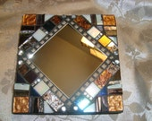 MOSAIC MIRROR, Wall Art, Accent Mirror, Multicolored, Home Decor, Wall Art