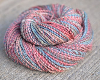 Tuscadero - merino/silk cable ply handspun yarn - bulky weight, 105 yards