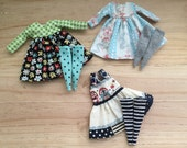 Lot of 3 dresses for neo Blythe