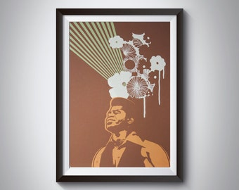 James Brown Godfather of Soul Art Print