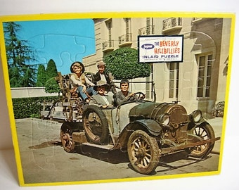Beverly Hillbillies Puzzle - Inlaid Puzzle