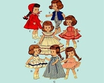 Sewing Pattern Doll Clothing Outfits Betsy McCall 8 to 9 inch dolls PDF Download