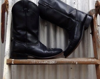 Vintage riding boots | Etsy