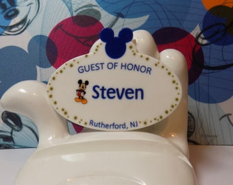 Custom Order Disney Resort Guest of Honor Lapel Pin