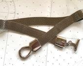 Silver Mesh Belt Vintage Chain Belt