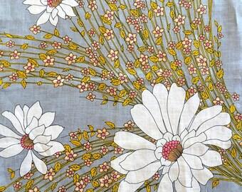 Vintage Monique Handkerchief Linen Hanky