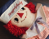 Vintage LARGE Raggedy Andy doll