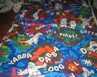 The Flintstones Meet the Flintstones have a Yaba Daba Do Time Fabric