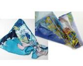 Silk scarves for Amanda