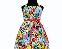 Girl's 1950's Diner Dress