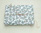 Wrapping Paper | Christmas Wrapping Paper | ecofriendly | 3 sheets | Conifer | green | STUDIO KARAMELO