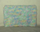 Pastel Makeup Bag Toiletry Bag Coupon Holder  Clutch