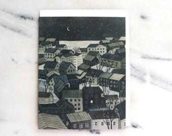 reykjavik blank card