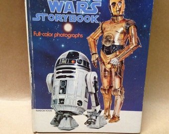 Star Wars Storybook Random House 1978