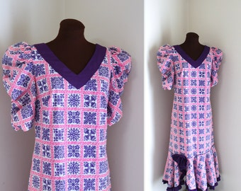 Hawaiian Mermaid Hem Island Dress