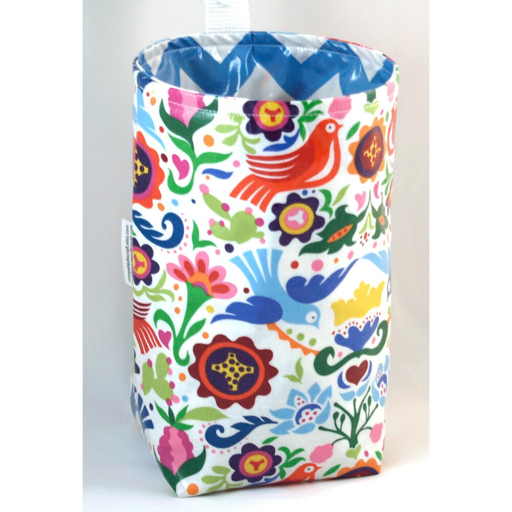 Wastebasket car trash can collapsible anywhere crafting thread - Collapsible waste basket ...