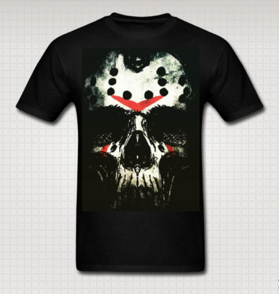 Friday the Thirteenth Jason Skull Tee shirt
