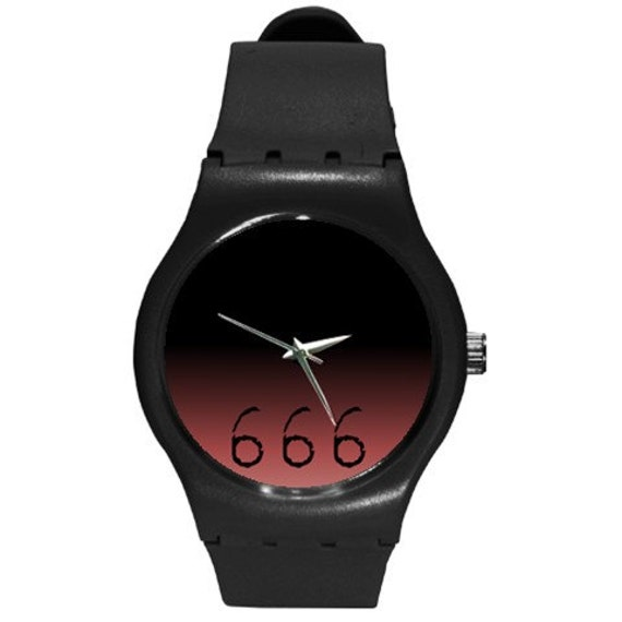 666 Ombre swatch style watch