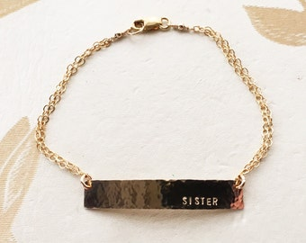 Customizable Name Plate Bracelet