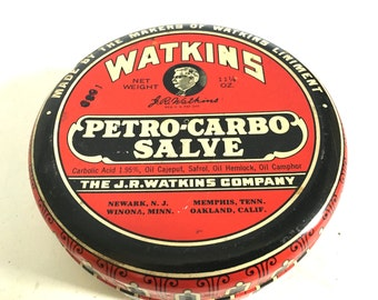 Old Warkins Tin