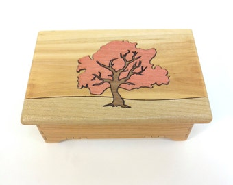 Tree Keepsake Box - Sustainable Harvest