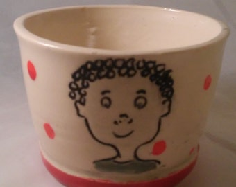 Cups with Different Children of the World  Drawings. Price Reduced.