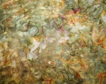 High Quality Anthology Batik ~ Beautiful Natural Toned Batik #1036