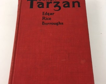Antique Jungle Tales Of Tarzan Book 1919