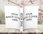 Paperback Book Mock Up Display Image Add On Package Design #1