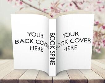 Paperback Book Mock Up Display Image Add On Package Design #1