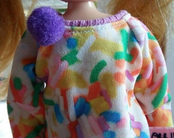 Sprinkles Sweater for blythe and similar dolls
