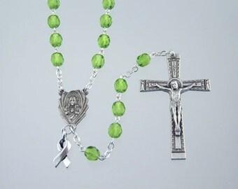 Lime Green Awareness Rosary