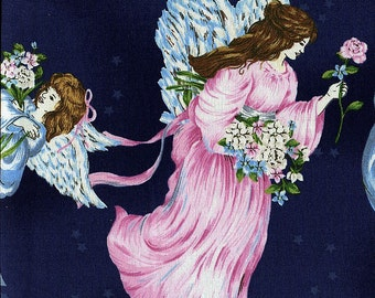A Beautiful Place Angels - Fabriquilt - 1 yard - More Available - BTY
