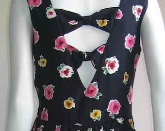 70s 80s Lanz cut out dress mint condition