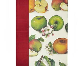 Recipe Book Blank  APPLES and BLOSSOMS