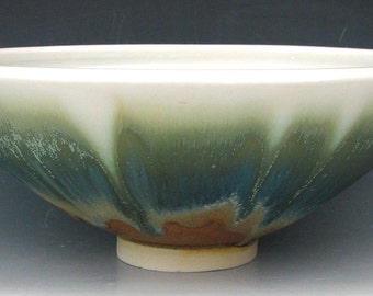 CERAMIC SERVING BOWL #21 - Stoneware Bowl - Pottery Bowl - Studio Pottery