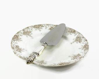 Sterling Cake Server, Vintage Wedding Decoration, Pie Server, Wedding Cake Server