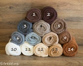 Newborn Wrap, Many Colors, Stretch Knit Wraps, Neutral Stretchy Wraps, Natural Colors, Newborn Props, Cocoon Wraps, Baby Props, RTS Props,