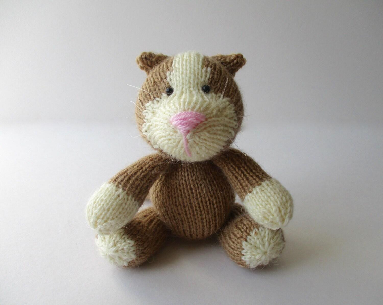 Cavendish Cat toy knitting patterns