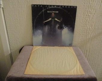 Papa John Creach vinyl record  - Original - The Rock Father Vinyl - Vintage album in Excellent Plus Condition