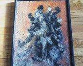 Abstract Painting Midcentury Textural Art