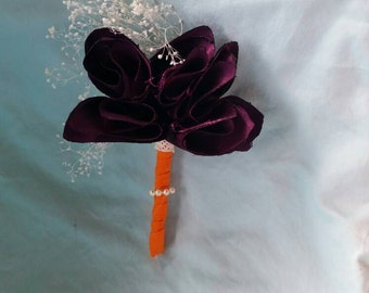 Six boutonnieres for Caillie