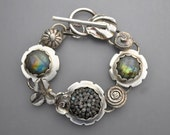 Labradorite Gem Ball Bracelet