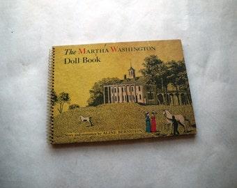 Martha Washington Paper Doll Book Uncut 1940s