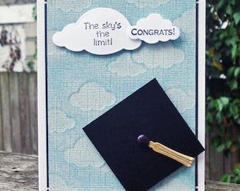 Sky's the Limit - Graduation Card