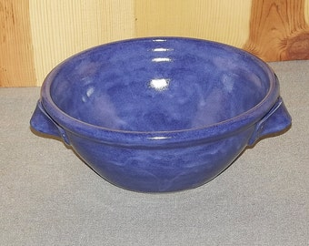 Blue bowl Hand Thrown Pottery by Richard Martin