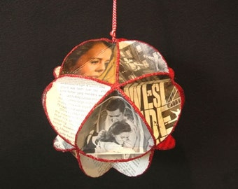 West Side Story Album Cover Ornament Made Of Record Jackets  Film Movie Soundtrack
