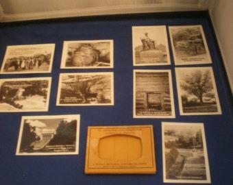 Vintage Lincoln National Historical Park 10 Photograhs