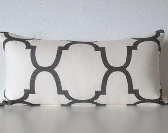 Windsor Smith Riad Clove lattice designer decorative pillow cover